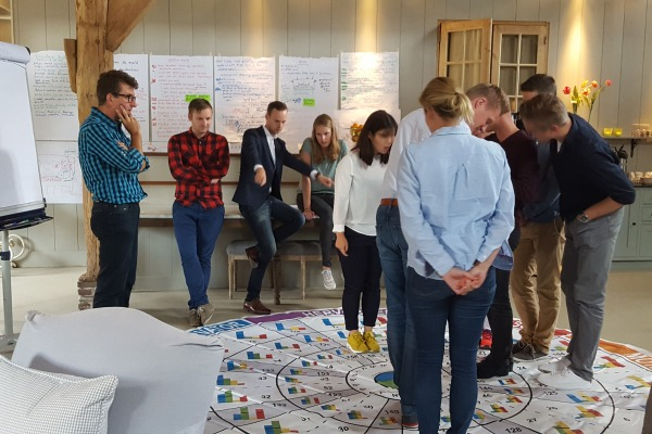 Workshop teamcoaching Insights Discovery